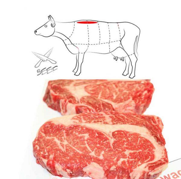 Rib Eye Steak Ultimate Wagyu Beef