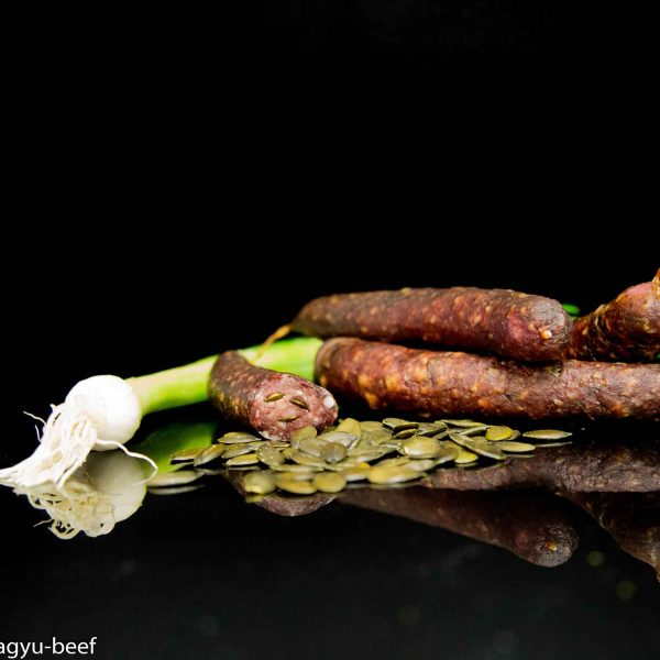 Wagyu-Salami-Kuerbiskern