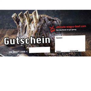 Gutscheine Ultimate Wagyu Beef