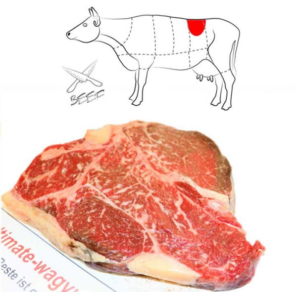 Porterhouse Steak Ultimate Wagyu Beef